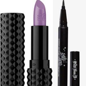 "Kat Von D  Studded Kiss ""COVEN"" Lip/Ink Liner Set"